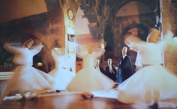 Turkish Whirling Dervish